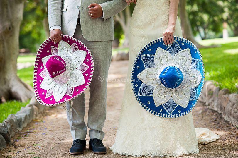Una boda mexicana.