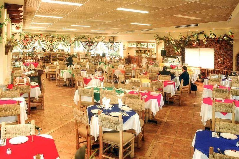 Áreas de restaurant