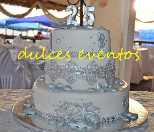 Pasteles temáticos para boda
