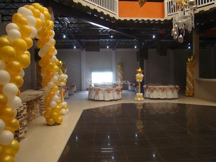 Hermoso salón