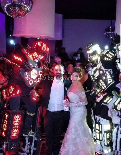 Robot Led Mexicali