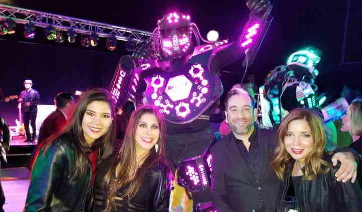 Robot led mexicali