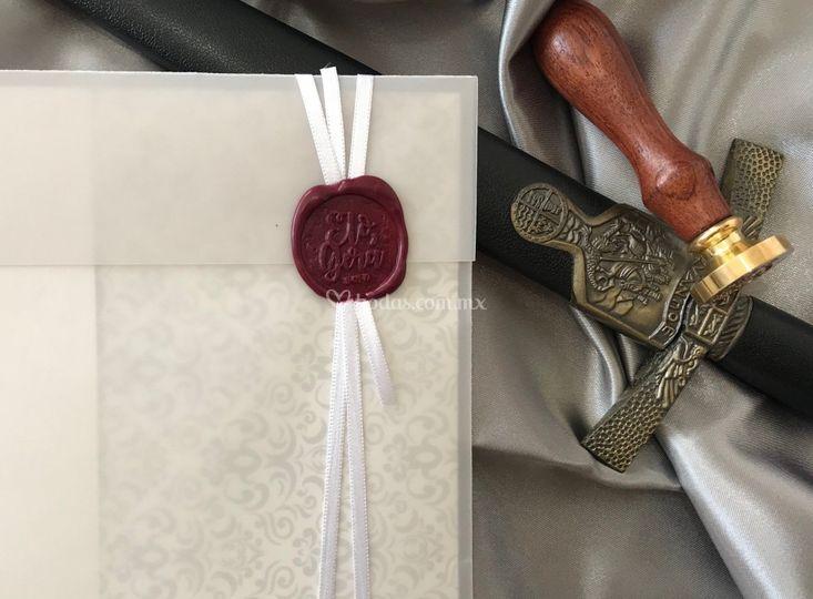 Invitación medieval