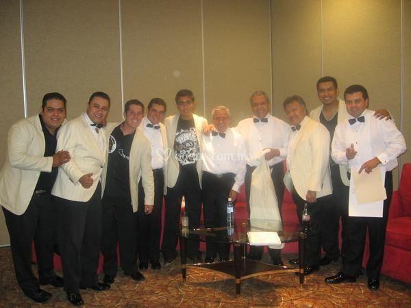 Con la I. Sonora Santanera