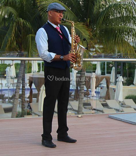 Lounge Sax  rooftop en Riviera