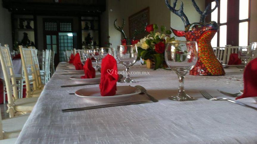Xc banquetes for Vajillas elegantes