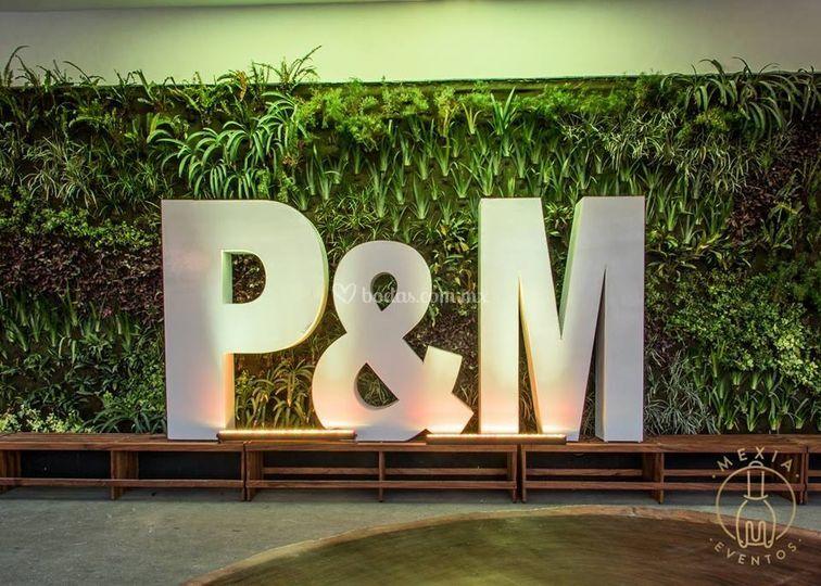 P&m boda