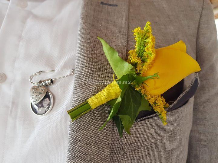 Botonnier para novio