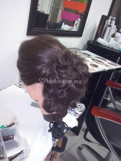 Diseño de peinado