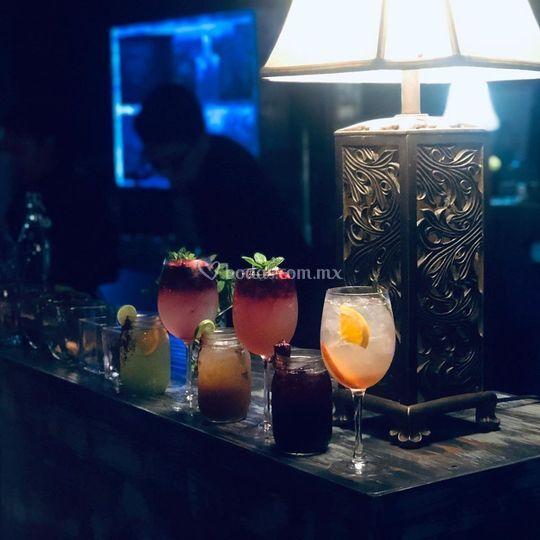 Coctel de bebidas