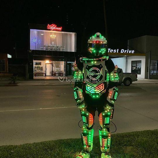 Mini Robot Iluminado