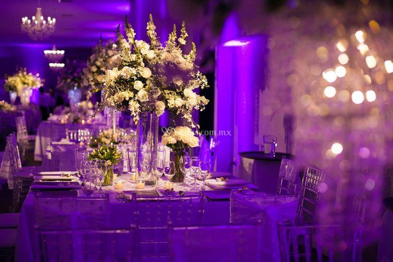 Arreglos florales de boda