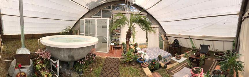 Villa ecológica - vista total