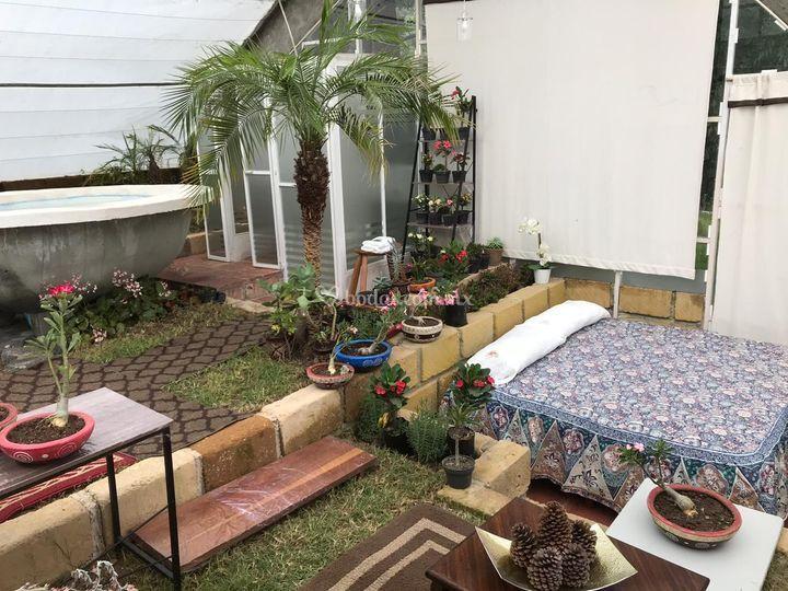 Villa ecológica - interior
