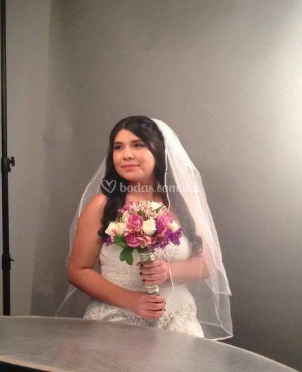 Sesión de fotos novia