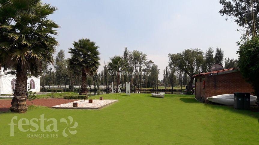 Festa jard n michmani for Jardin xochimilco