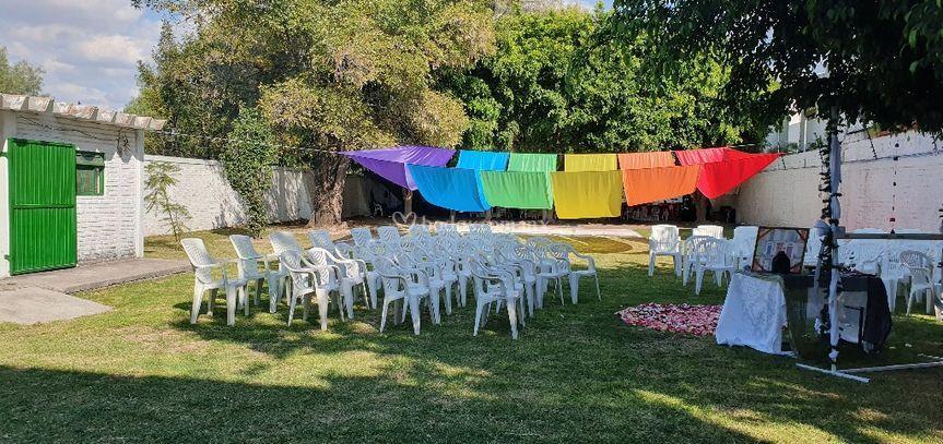 Area para ceremonia