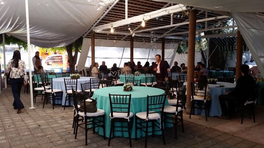 Silla Tifany café