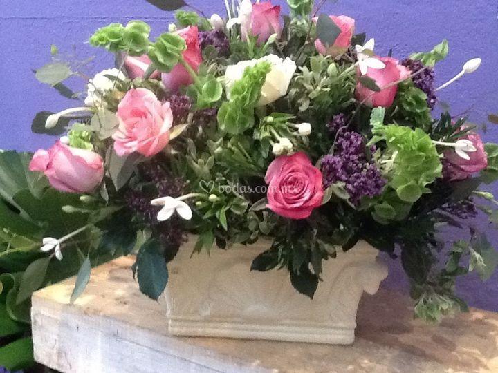 Rosas siempre romántico