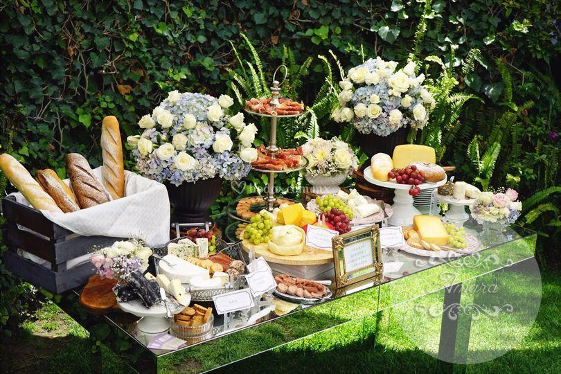 Amara catering - Mesa de quesos para bodas ...