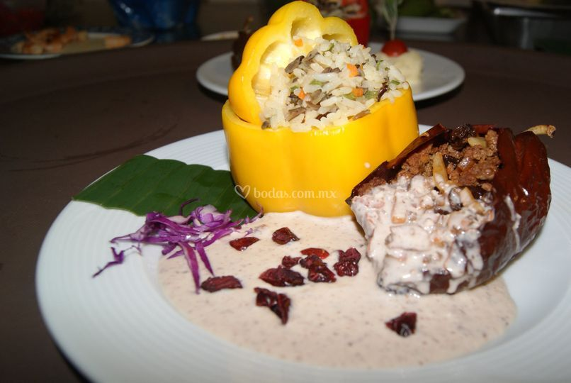 Platillos gourmet
