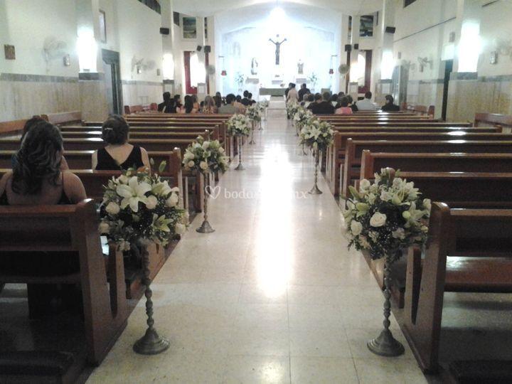 Camino de iglesia  alto