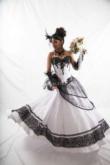 Vestido de estilo victoriano