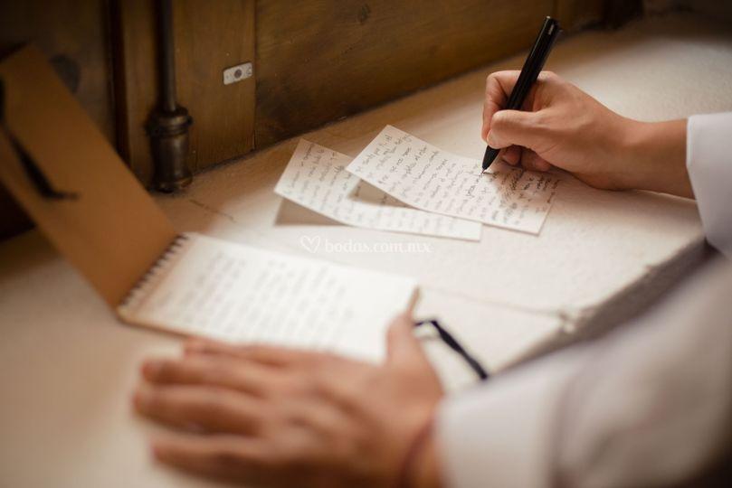 Escribiendo los votos