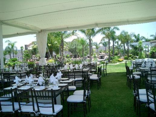 Casa vi a banquetes for Casa jardin buffet