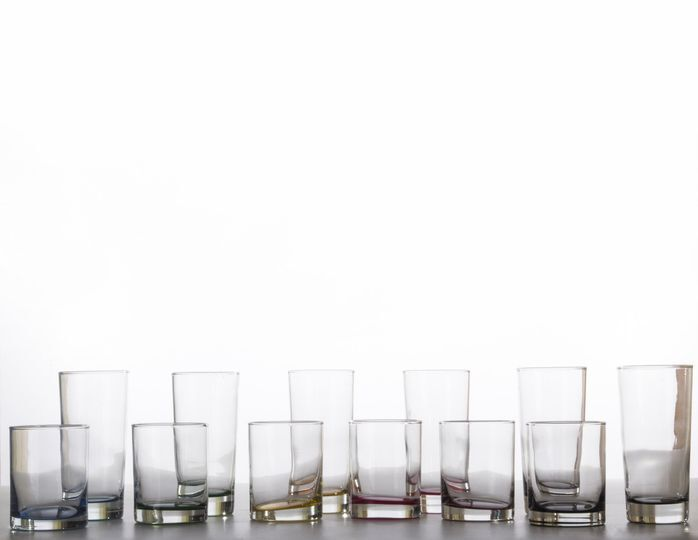 Set de 12 vasos