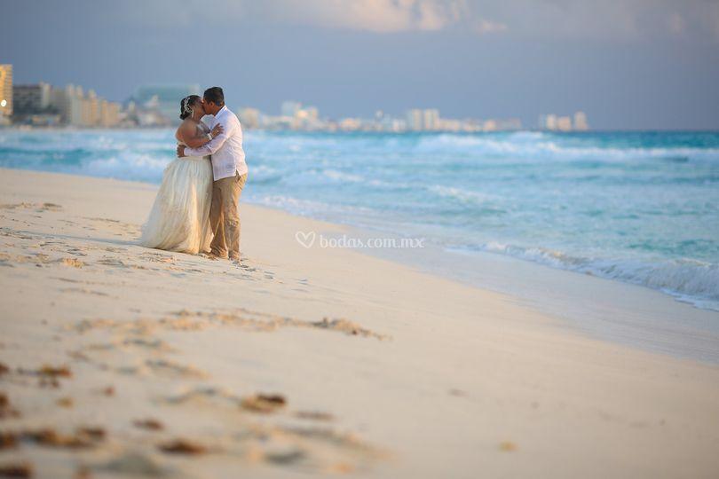 Boda mar y amor