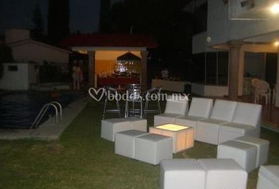 Lounge aire libre
