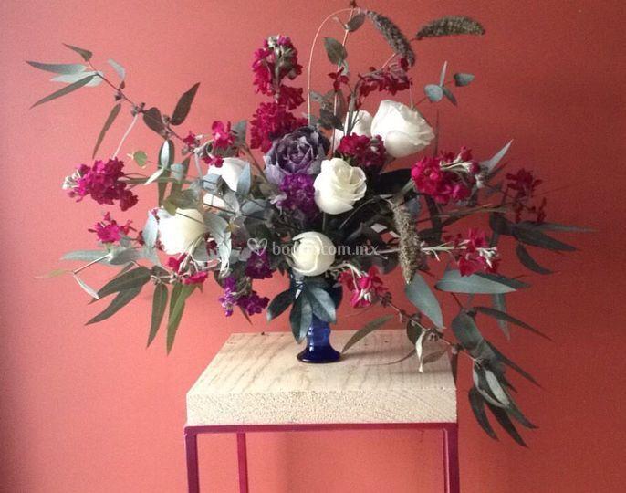 Arreglo floral para ceremonia