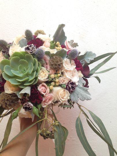 Ramo de novia orgánico