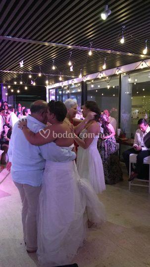 Baile de las familias
