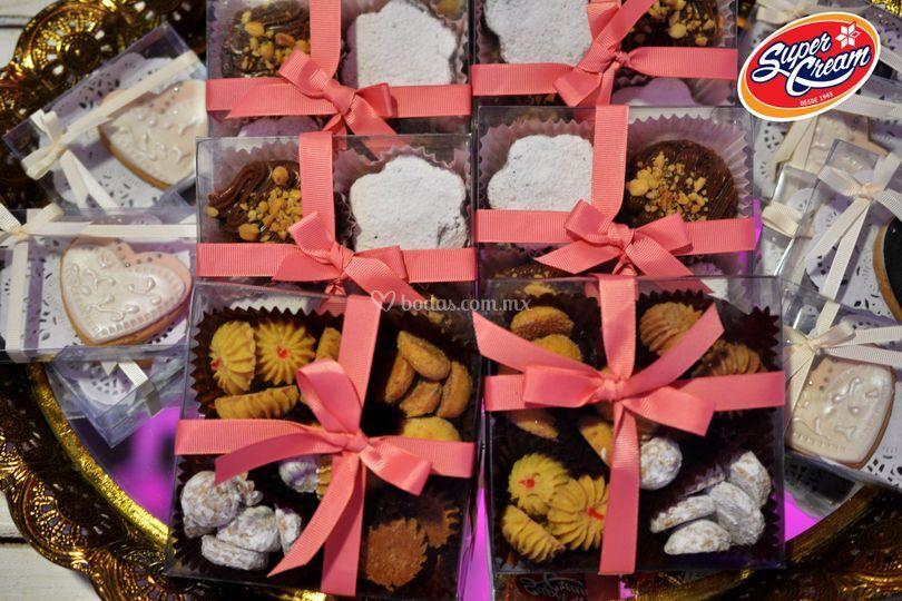 Paquetes de galletas especiale