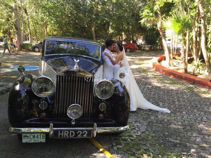 Nuestra Boda en Rolls Royce