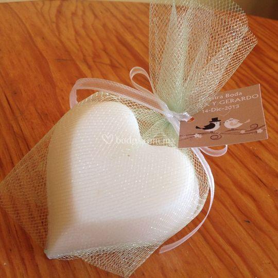 Jabón para boda
