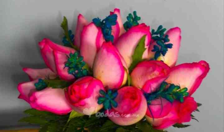 Ramo dama rosa