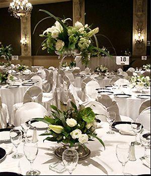 Elegantes centros de mesa