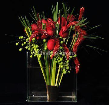 Romanticismo en las flores
