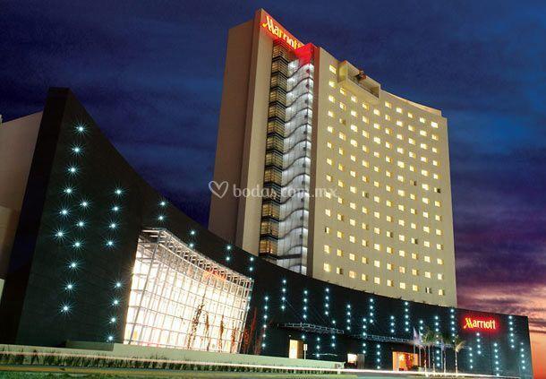 Marriott hotel aguascalientes for Fachadas de hoteles de lujo