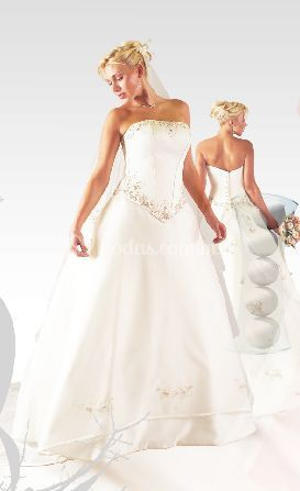 Vestido novia Mara