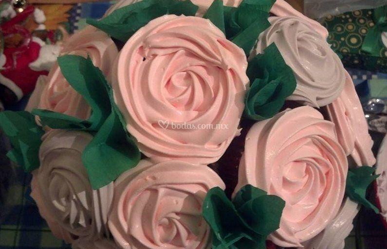 Arreglo de cupcakes