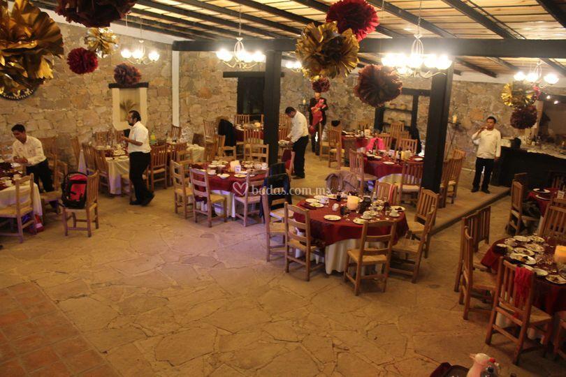 Banquete cena de gala