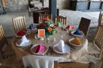 Montaje yute boda banquete