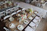 Montaje banquete vintage