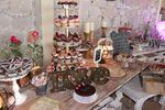 Mesa de dulces y cupcakes