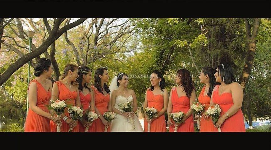 The bride squad