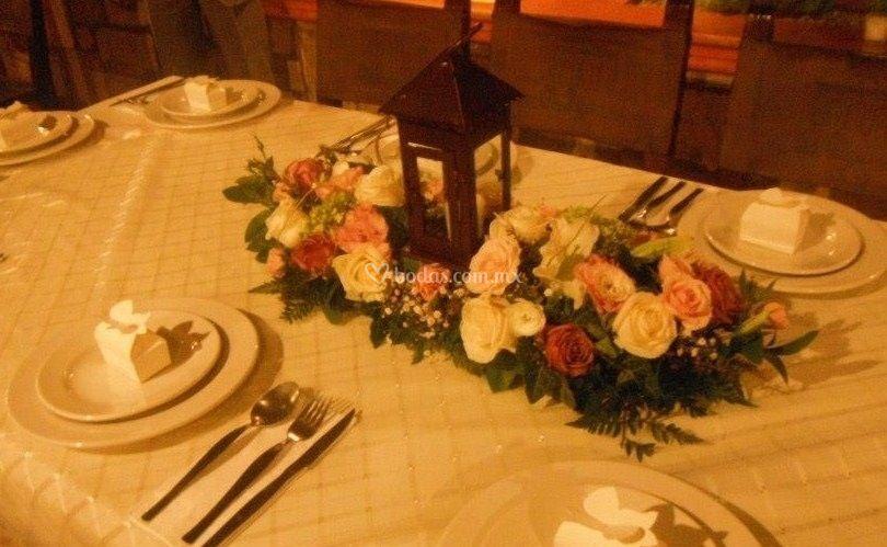 Mesas tipo  banquete